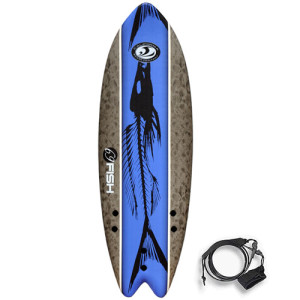 """Pěnový Surfboard Fish 5'8"""" Cena 5 000,- Kč"""